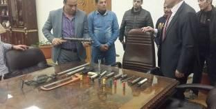 ضبط 93 شخصا بتهمة حيازة أسلحة بيضاء في القاهرة