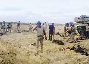 الجيش يصفي 20 إرهابيا ويصيب 30 نظموا عرضا مسلحا في شمال سيناء