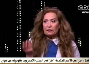 بالفيديو| مشادة بين رغدة ولميس الحديدي بسبب بشار الأسد