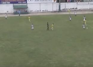 بالفيديو| مباراة كرة قدم في الإكوادور تنتهي بنتيجة 44-1