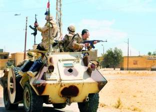 عاجل| القوات المسلحة تصفي 13 إرهابيا شديدي الخطورة وتضبط 1750 كيلو بارود