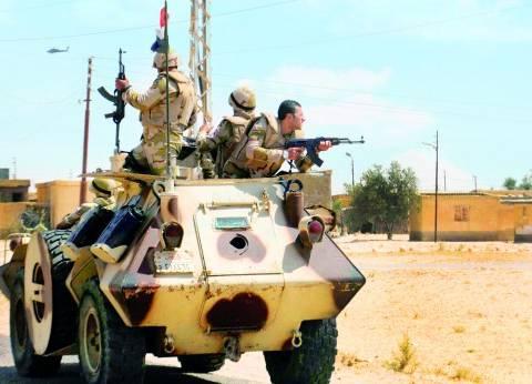 """""""الشئون المعنوية"""" تعرض فيديو جديد لعمليات الجيش في """"حق الشهيد"""""""