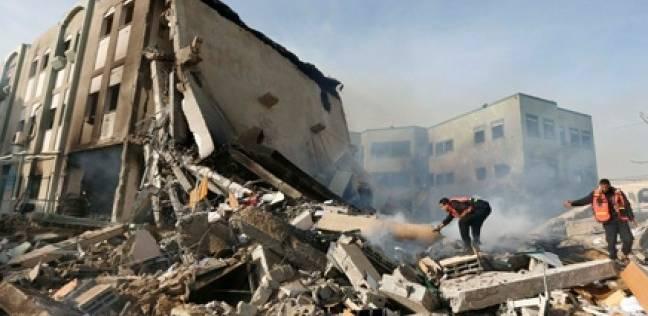 للمرة الثالثة خلال نصف ساعة.. طائرات الاحتلال تستهدف مطار غزة