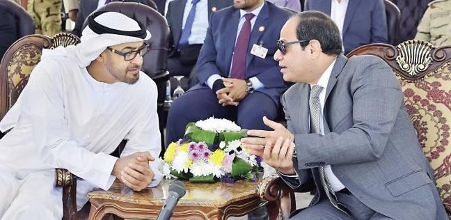 الإمارات تدعم مصر بـ4 مليارات دولار و12 مشروعاً جاهزاً