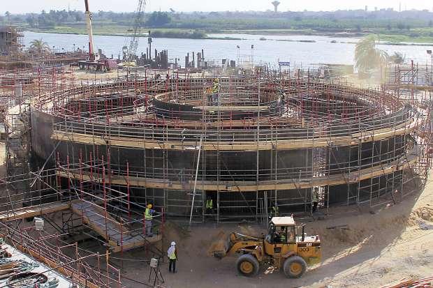 انجاز لوزارة الكهرباء يعادل الاعجاز فى وقت قياسي محطة بنى سويف تنتج تلات اضعاف انتاج السد العالى من الكهرباء 13594229031463852666