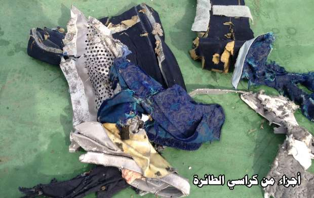 أول صور لحطام الطائرة المصرية المنكوبة 17731664691463824442
