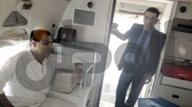 «الوطن» تثبت كذب «الداخلية» بفيديو من داخل طائرة «مبارك»
