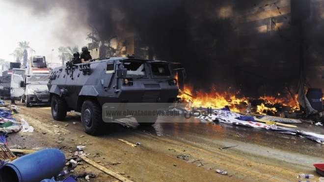 10 مشاهد ترصد«عملية» فض اعتصام «رابعة العدوية»