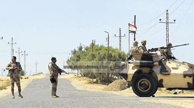 30 قتيلًا ومصابًا في الحملة العسكرية على بؤر الإرهاب بشمال سيناء