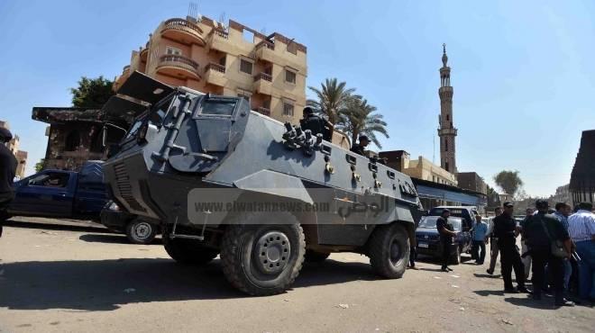 تعزيزات أمنية مكثفة بمحيط مديرية أمن أسوان بعد الحادث الإرهابي بالدقهلية