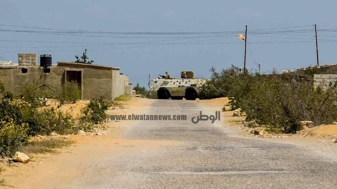 طائرات عسكرية تقصف الشيخ زويد وأنباء عن مقتل 25 من الجماعات الإرهابية