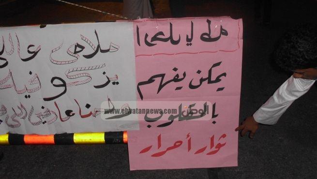 أهالي الضبعة يعلنون انضمامهم للاعتصام أمام المحافظة للمطالبة برحيل المحافظ