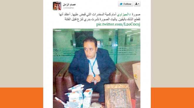 أزمة احتجاز الجيزاوي بعيون تغريدات