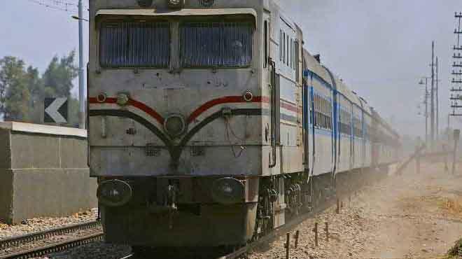 تشغيل تجريبي لخطوط السكة الحديد بالمنيا