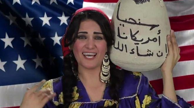 سما المصري تطلق كليب سياسي جديد بعنوان