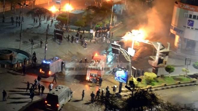 ليلة دامية فى الغربية: 4 مراكز ومواجهات عنيفة بين الأمن والمتظاهرين