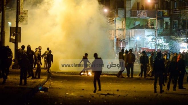 اشتباكات في المنصورة بين الإخوان ومتظاهرين.. ووقوع العديد من الإصابات