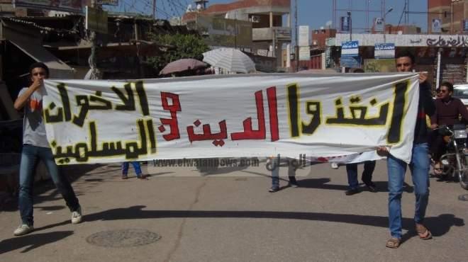 متظاهرو منيا القمح ينهون مظاهرات اليوم