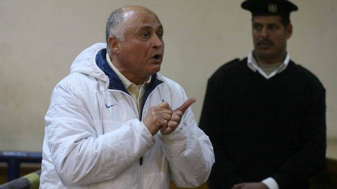 وصول محمد إبراهيم سليمان إلى مقر المحكمة بالقاهرة الجديدة